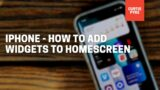 Iphone – How To Add Widgets To Home Screen