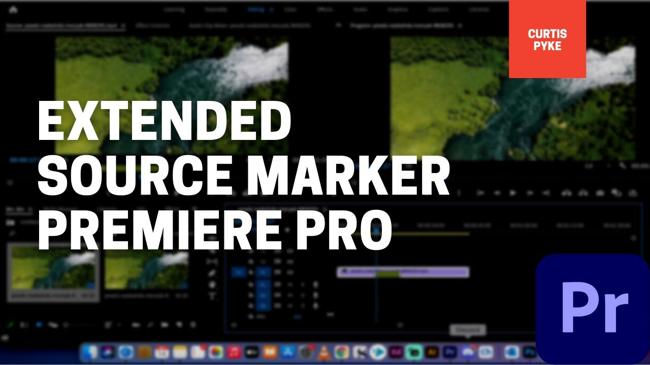 Premiere Pro - Extended Source Markers!